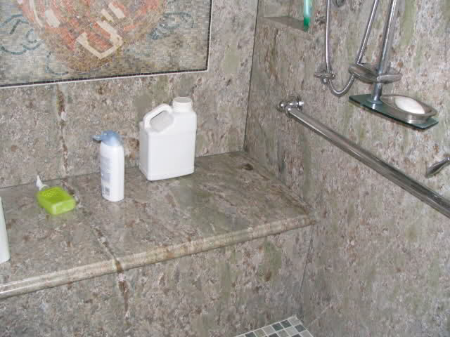 shower wall solid surface